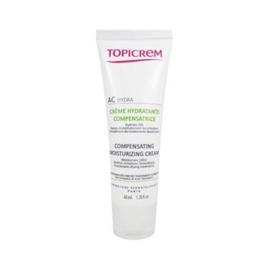 Topicrem AC Compensating Moisturizing Cream 40ml Renksiz